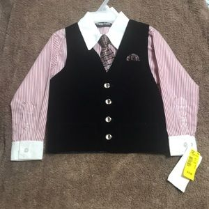 Other - Boys Dress Shirt and Tie